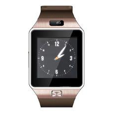 ATM นาฬิกาโทรศัพท์ Smart Watch Phone รุ่น DZ09 กล้องนาฬิกาบูลทูธ ใส่ซิมได้ สีทอง