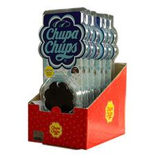 Chupa Chups ซิลิโคนหอมปรับอากาศแขวนในรถยนต์ แบบแพ็ก (6 ชิ้น/1 แพ็ก)