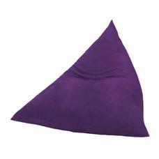 Your Style BeanBag สามเหลี่ยมผ้ากำมะหยี่ Purple