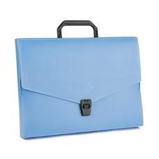 Flamingo กระเป๋าพลาสติก A4 ฟลามิงโก้ 946 สีน้ำเงิน