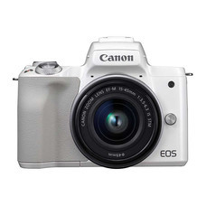 CANON EOS M50 Kit (EF-M15-45 IS STM) White