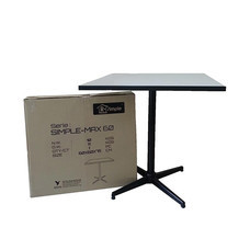 R-SIMPLE โต๊ะคาเฟ่ Max60 สีขาว