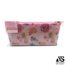 V.S Stationery กระเป๋าใส่เครื่องเขียนอเนกประสงค์ Sailor Moon (V.2) สีชมพู