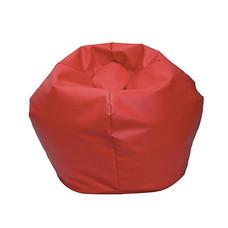 Your Style บีนแบ็คกลมใหญ่หนังเทียม แดง