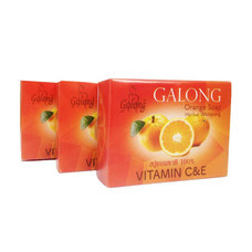 Galong Orange Vitamin C E Soap (Pack 3)