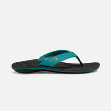 Olukai รองเท้าผู้หญิง 20292-3T40 W-KIA'I WAHINETEAL/BLACK 6 US
