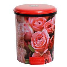 KEEP IN ถังผงอนามัย IML.10 ล. ลายดอกกุหลาบ