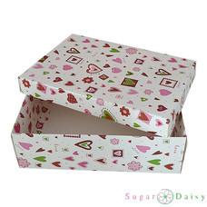 Sugar Daisy กล่องของขวัญพิมพ์ลาย 17 x 25.3 ซม. คละลาย คละสี (แพ็ก 3 กล่อง)