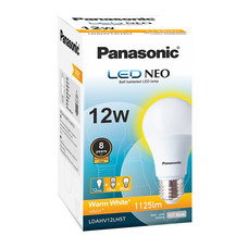 Panasonic หลอด LED NEO 8000 hr WW E27 PAN 15 W
