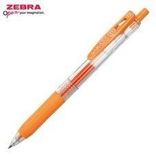 Zebra ปากกาหมึกเจล Sarasa Clip 0.5 มม. JJ15-OR หมึกสีส้ม (12 ด้าม/กล่อง)