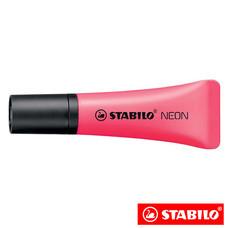 STABILO Neon ปากกาเน้นข้อความ ด้ามนิ่ม Pink
