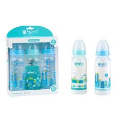 BABITO ขวดนม BPA-Free ขนาด 8 ออนซ์ แพ็ก 3 คละสี