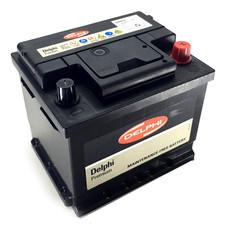 DELPHI แบตเตอรี่ สีดำ รุ่น DIN45L-SMF