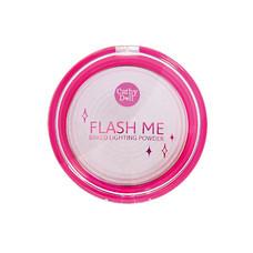 Cathy Doll Flash Me Baked Lighting Powder 8 ก. #3 Pink Lights