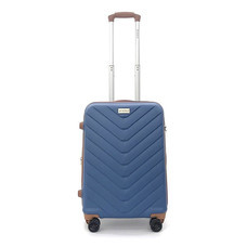BP WORLD Luggage No. 1867 Blue Size 20 inch