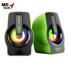 MD-TECH Speaker USB 2.0 SP-16 Green