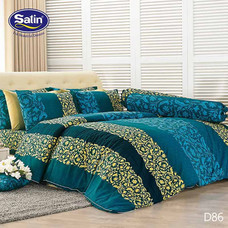 Satin ผ้าปูที่นอน ลาย D86 6 ฟุต