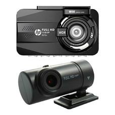 HP กล้องติดรถยนต์ ด้านหน้า-หลัง รุ่น F870X + RC3 Full HD 1080P
