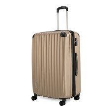 POLO TRAVEL CLUB กระเป๋าเดินทาง HKEXD 8009 ไซส์ 28 สีทอง