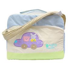กระเป๋าคุณแม่สำหรับเดินทาง (ฟ้า)