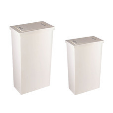 DKW HH-308/2 เซ็ต Slim swing bin 8 L + 20 L White