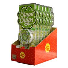 Chupa Chups น้ำหอมปรับอากาศช่องแอร์กลมติดรถยนต์ แบบแพ็ก (6 ชิ้น/1 แพ็ก)