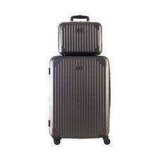 Caggioni กระเป๋าเดินทาง รุ่น Family เซ็ต PD600 สีเทาดำ ไซส์ 25 และ 12 นิ้ว