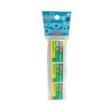 GROS ลวดเย็บกระดาษ เบอร์ 10 (แพ็ก 3 กล่อง)
