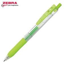 Zebra ปากกาหมึกเจล Sarasa Clip 0.5 มม. JJ15-LG หมึกสีเขียวอ่อน (12 ด้าม/กล่อง)