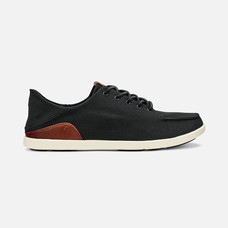 Olukai รองเท้าผู้ชาย 10331-40KH M-MANOABLACK/MASTARD 11 US