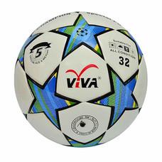 VIVA ฟุตบอลหนังอัดพิเศษแข่งขัน PU รุ่น CHAMPION เบอร์ 5 สีฟ้า-ขาว