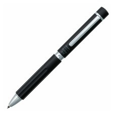 Sakura ปากกาหมึกเจล Ballsign Premium (หมึก 2 สีและดินสอกด) สีดำ