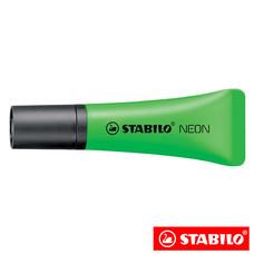 STABILO Neon ปากกาเน้นข้อความ ด้ามนิ่ม Green