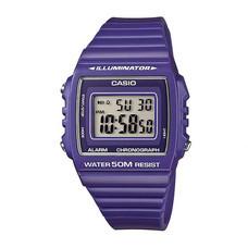 CASIO นาฬิกาข้อมือ รุ่น W215H-6A Purple