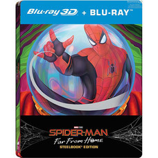 Blu-ray 3D Spider-Man Far From Home (3D+Blu-ray+Steelbook)