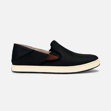 Olukai รองเท้าผู้ชาย 10365-4018 M-KAHU BLACK/OFF WHITE 10 US