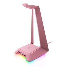 Razer ที่แขวนหูฟัง Base Station Chroma Quartz Pink