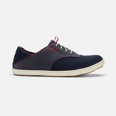 Olukai รองเท้าผู้ชาย 10283-DE43 M-NOHEA MOKU TRENCHBLUE/DEEP RED 8 US