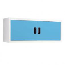 KIOSK-MAX-011 ตู้แขวนวางหนังสือบานเปิด รุ่น Maxbook สี BO-Blue Ocean