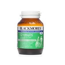 Blackmores 12+ MULTI วิตามินและแร่ธาตุรวม บรรจุ 60 แคปซูล