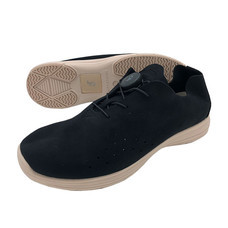 Talon รองเท้าคัชชูเพื่อสุขภาพเท้า รุ่น BUSAN สีดำ-พื้นรองเท้าสีเบส ไซส์ 37