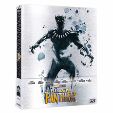 Blu ray 3D Black Panther แบล็ค แพนเธอร์ (3D + Blu-ray + Steelbook)