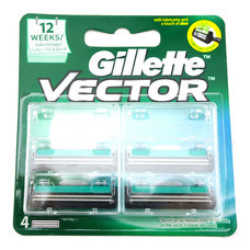Gillette Vector 4 Cartridges