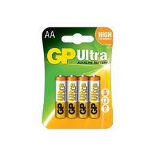 GP ถ่าน รุ่น Ultra Alkaline AA 4 ก้อน