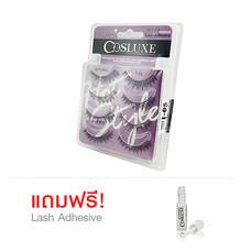 Cosluxe Valuepack Eyelashes No.105 [4 คู่] ฟรี Lash Adhesive