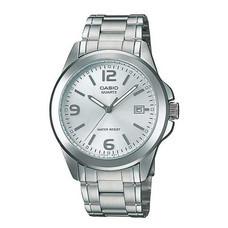 Casio นาฬิกาข้อมือ รุ่น MTP-1215A-7ADF Silver