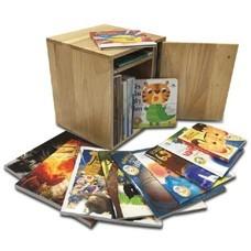 ชุด หนังสือ Mini Library แถมฟรี ตู้ไม้