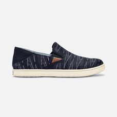 Olukai รองเท้าผู้หญิง 20360-40XK W-PEHUEA PA'I BLACK/KAPA 6.5 US