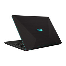 Asus Notebook A570ZD-DM334T AMD R5-2500U 2GH 8G SSD512 V4G W10 Plastic with black IMR and Lightning Blue slide