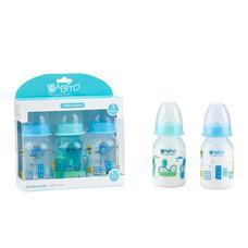 BABITO ขวดนม BPA-Free ขนาด 4 ออนซ์ แพ็ก 3 คละสี